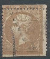 Lot N°52296  Variété/n°21, Oblit, Sans Légende 10C POSTES 10C, Piquage - 1862 Napoleone III