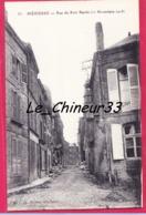08 - MEZIERES--Rue Du Port Banda ( 11 Novembre 1918 ) - Other Municipalities