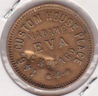 Jeton De Maisons Closes Ou Tolérance- EVA - CHIGAGO - Monedas/ De Necesidad