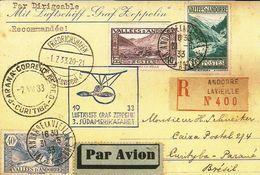ANDORRA  Zeppelin - Stamps