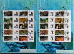 FR. 2006 - Les Impressionnistes - 2 Feuillets N° F3866A Avec Vignettes Différentes Oblitérés - Gomme D'Origine - P. Etat - France