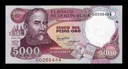 Colombia 5000 Pesos Oro 1988 Pick 435b SC UNC - Colombie