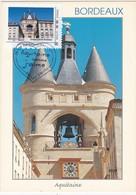 """CM:  FRANCE: BORDEAUX :Grosse-Cloche   : Collector """" AQUITAINE  Comme J'aime""""  : 1er Jour  26 MAI  2011 (neuve) - Cartoline Maximum"""