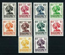 Dahomey (Francés) Nº Tasa-19/28 Nuevo* - Unused Stamps