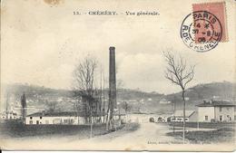 Cpa Chéhéry, Vue Générale, Usine - Other Municipalities