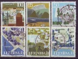 YUGOSLAVIA 1040-1045,used,tourism - Gebraucht
