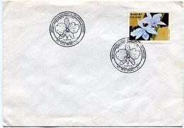 BRASIL 1980 FDC RIO DE JANEIRO FLOWERS  - NTVG. - Gebruikt