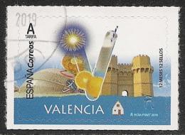 2019-ED. 5281 - 12 Meses, 12 Sellos. VALENCIA -USADO- - 2011-... Used