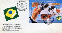 BRASIL 1994 FDC FEIRA DO LIVRO DE FRANKFURT - NTVG. - Brazilië