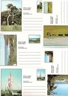 Transkei - 10 Card Cartes - Stationery Ganzsache Entier Postal - Landscapes Trees Flowers - Fleurs Arbres - Transkei