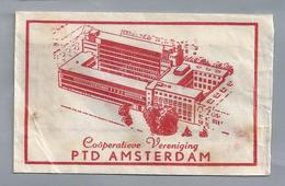 Suikerzakje.- AMSTERDAM. PTD AMSTERDAM. Coöperatieve Vereniging. -. Suiker Sucre Zucchero Zucker Sugar - Suiker