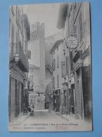 "CARPENTRAS  (Vaucluse) -- Rue De La Porte D'Orange - Cpa ""précurseur"" 1904 - ANIMEE - Carpentras"