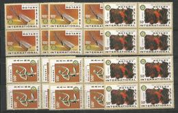 8x ZAIRE - MNH - Organizations - Rotary - 1980 - Rotary, Lions Club