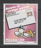TIMBRE NEUF DU MEXIQUE - PROPAGANDE POUR L'UTILISATION DU CODE POSTAL N° Y&T 967 - Codice Postale