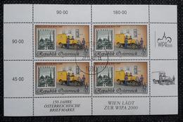 Österreich 1998, Kleinbogen WIPA, ANK 2300 Gestempelt - 1945-.... 2nd Republic