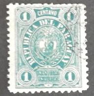 PARAGUAY YT 18 OBLITÉRÉ ANNÉE 1884 - Paraguay
