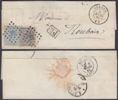 Belgique 1869 - Précurseur  Vers Roubaix De Bruges ................   (EB) DC6333 - Bélgica