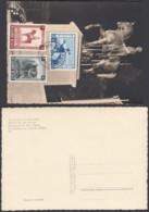 Belgique -carte Maximum Cob 938/40 Vue: Monument Du Roi Albert-Illumination De Bruxelles (EB) DC6335 - Maximum Cards