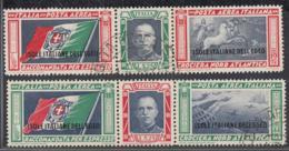 Mer Egée 1933 Italy - Timbres Oblitérés Par Avion. Yv: Nr.: 28-29............................  (DD) DC6344 - Egée