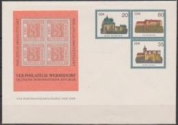 DDR Ganzsache 1984  Nr.PU 1  Burgen Der DDR Ungebraucht  ( D 3357 )Günstige Versandkosten - Private Covers - Mint