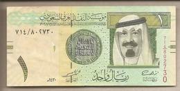 Arabia Saudita -  Banconota Circolata Da 1 Riyal P-31b - 2009 #18 - Saudi Arabia