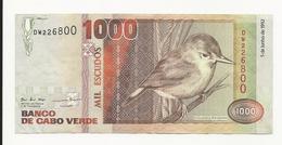 Cabo Verde 1000 Escudos 1992 VF - Cabo Verde
