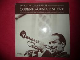 LP33 N°1315 - BUCK CLAYTON ALL STARS FEATURING JIMMY RUSHING - COPENHAGEN CONCERT - COMPILATION 2 LP 11 TITRES - Jazz