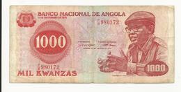 Angola 1000 Kwanzas 1979 Perhaps Fine+ - Angola