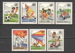 Hungary 1985 Mi 3751-3757 MNH SPORTS - Unused Stamps