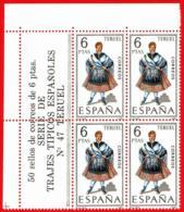 España. Spain. 1970. B4. Teruel. Trajes Regionales Regional Costumes - 1931-Aujourd'hui: II. République - ....Juan Carlos I