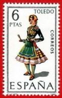 España. Spain. 1970.  Toledo. Trajes Regionales Regional Costumes - 1931-Hoy: 2ª República - ... Juan Carlos I