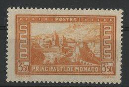 MONACO N° 131 Cote 60 €. 3.5Fr Orange. Neuf * (MH). TB - Monaco