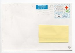 Postal Stationery  COVER - RED CROSS Finland - STAMP SWAN - Finlandia