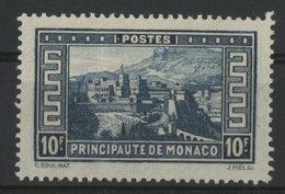 MONACO N° 133 Cote 160 €. 10fr Bleu. Neuf * (MH). TB - Monaco