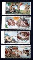 Francobolli Vaticano 1994 - Cappella Sistina - Nuovi - 8 Valori - Nuovi