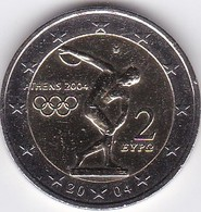 2 Euro Commemorative Grèce 2004 JO D'Athènes - Greece