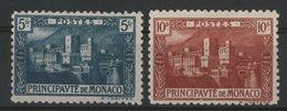 MONACO N° 63 + 64 Cote 59 €. Neufs ** (MNH). TB - Monaco