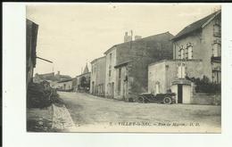 88 - Vosges - Villey Le Sec - Rue De Maron - Voiture - - Francia