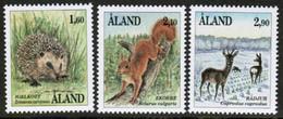 1991 Aland Islands Mammals Complete Set MNH. - Ålandinseln