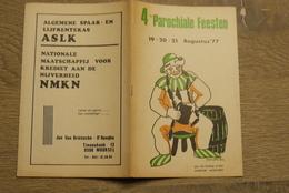 Moorsel Aalst 1977 Parochiale Feesten Reklameboekje - Documentos Históricos