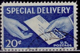 United States 1954-57, Special Delivery, 20c, Sc#E20, Used - Special Delivery, Registration & Certified