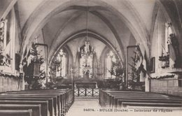 T4  - 25 - DOUBS - BULLE - Intérieur De L'église - Frankrijk
