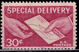 United States 1954-57, Special Delivery, 30c, Sc#E21, Used - Special Delivery, Registration & Certified