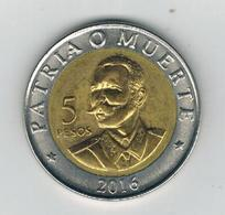 Cuba , 5 Pesos 2016. AUNC. - Cuba
