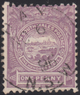 New South Wales 1888-89 Used Sc 77a 1p View Of Sydney Perf 12 X 12 CDS Hay NO 6 96 - 1850-1906 New South Wales