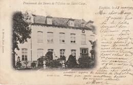 ENGHIEN - Pensionnat Des Soeurs De L'Union Au Sacré-Coeur / AVANT COUR / Voyagée 1902 / Photo A. Meslin (Anvers) - Edingen