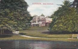 28508Arnhem, Hotel Sonsbeek (poststempel 1911) - Arnhem