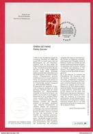 (Réf : X853) FEUILLET ARTISTIQUE PHILATÉLIQUE 210 X 145 Mm ~OPÉRA DE PARIS ~PALAIS GARNIER~ - Andere