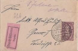 DR Brief Eilbote Mif Minr.219,239 SST Bärenstein 27.2.23 Gel. Nach Chemnitz - Briefe U. Dokumente