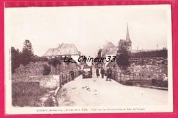 08 - ROCROI--- Entree De La Ville--Pont Sur Les Fortifications Et Rue De France---cpsm Pf - Other Municipalities